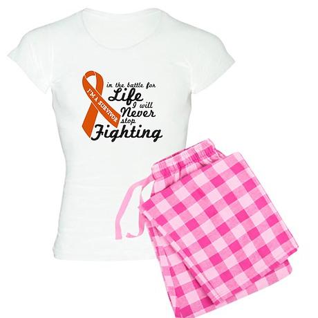 Leukemia Survivor Women's Light Pajamas