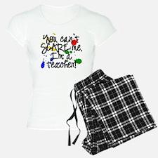 Scare Teacher pajamas