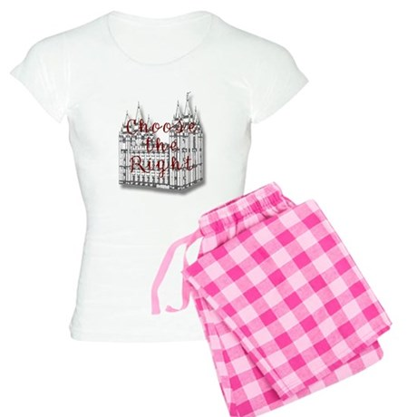 Temple Choose the Right Women's Light Pajamas