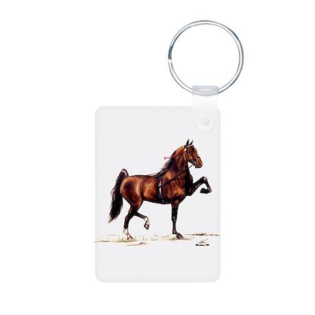 Hackney Pony Aluminum Photo Keychain