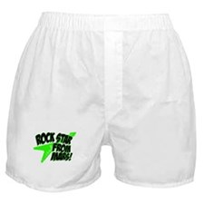 Rock Star From Mars! Boxer Shorts