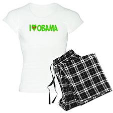 I Love-Alien Obama Pajamas