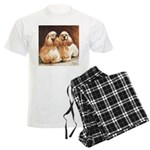 Cocker Spaniels Men's Light Pajamas