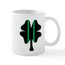 Green & Black Racing Clover Mug