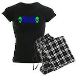 Aliens For Dennis Kucinich Women's Dark Pajamas