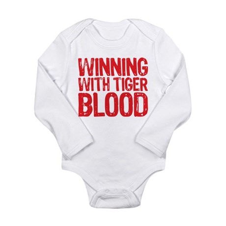 Winning with Tiger Blood 2 Long Sleeve Infant Body