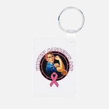 Kickin BreastCancer Keychains