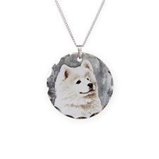 Samoyed Puppy Necklace
