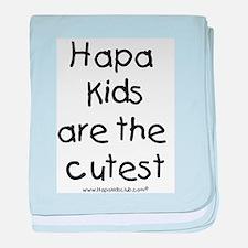 Hapa Kids baby blanket