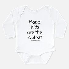 Hapa Kids Long Sleeve Infant Bodysuit