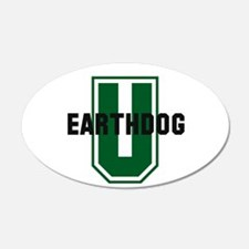 Earthdog University Wall Decal