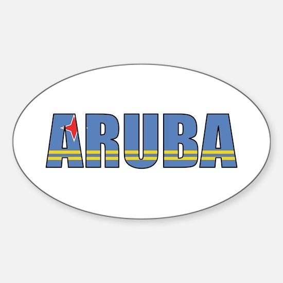 Aruba Sticker (Oval)