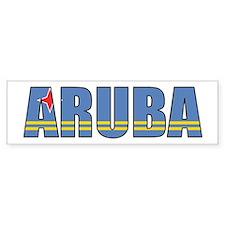 Aruba Bumper Sticker