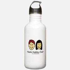 Haole Hubby Club - Red Head Water Bottle
