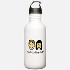 Haole Hubby Club - Brunette Water Bottle