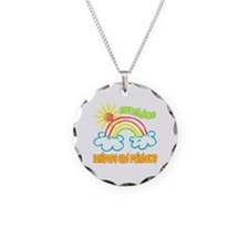 Sunshine, Lollipops & Rainbows Necklace Circle Cha