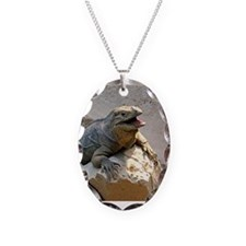 Rhino Iguana Necklace