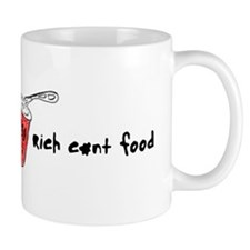 Rich C#nt Food Mug