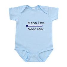 Gaming Mana Low Need Milk Infant Bodysuit