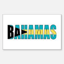 Bahamas Sticker (Rectangle)