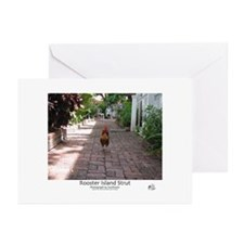 Rooster Island Strut Greeting Cards (Pk of 10)