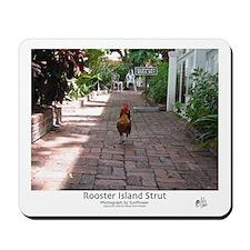 Rooster Island Strut Mousepad