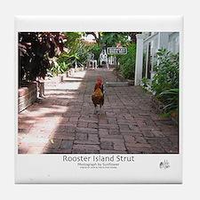 Rooster Island Strut Tile Coaster