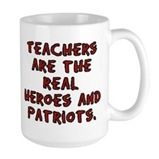 Teachers are Heroes Mug