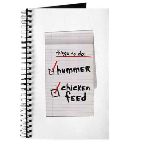 Trent Hummer Journal