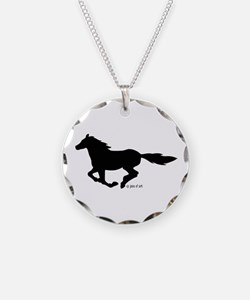 Horse (black) Necklace