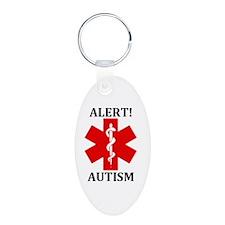 Autism Medical Alert Keychains