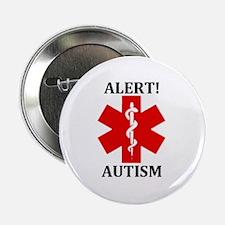 """Autism Medical Alert Button - 2.25"""""""