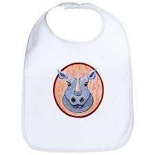 Rhino Head Bib