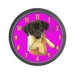 Little Puppy Dog Wall Clock