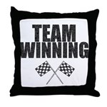 Team Winning Throw Pillow