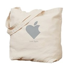 Love Apple Tote Bag