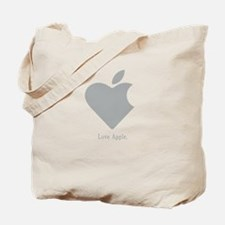 Love Apple Tote Bag