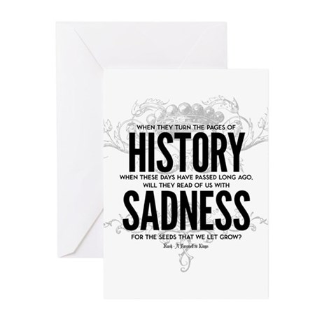 Farewell to Kings Greeting Cards (Pk of 10)