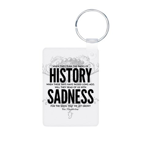Farewell to Kings Aluminum Photo Keychain
