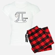 Funny Baseball Pi-tcher pajamas