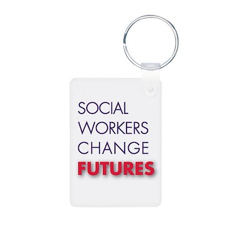 SW Change Future Aluminum Photo Keychain