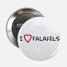 I Love Falafels Button