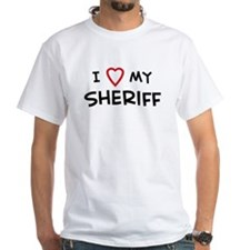 I Love Sheriff Shirt