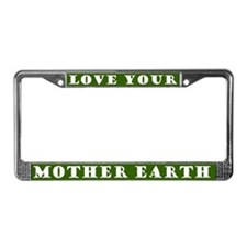 Mother Earth License Plate Frame