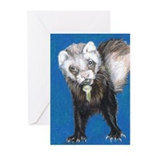 """Ferrets' Innocence"" Greeting Cards (Pk of 10)"