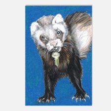 """Ferrets' Innocence"" - Postcards (Package of 8)"