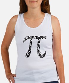 Floral Pi Women's Tank Top