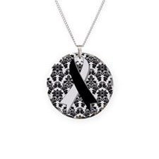 Damask Carcinoid Cancer Necklace