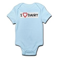 I Love Dairy Infant Creeper