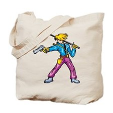 Anime Fighter Tote Bag